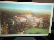 Vintage Uncirculated Postcard Library of Congress Washington D.C.