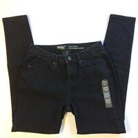 Mid Rise Curvy Straight Stretch 8 29 R BB Jeans Mossimo Denim Black 8 30x31