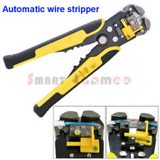 Automatic Wire Stripper Cable Cutter Pin Terminal Crimping Multi Tool Pliers AU