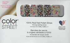 COLOR STREET Nail Strips Daisy Me Rolling 100% Nail Polish - Made in the USA!