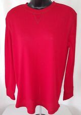 Cherokee Boy's Red Thermal Style PJ Shirt Size XL