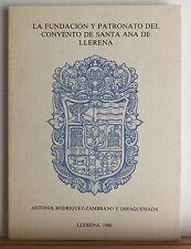 Convento de Santa Ana de Llerena 1986 Spain Badajoz Architecture Church History