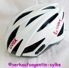 Uvex Ultrasonic Race Fahrrad-Helm weiß-schwarz Gr. 52-56