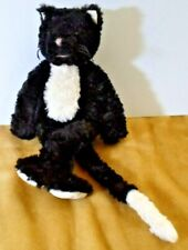"""Large Jellycat Cat Kitten Soft Toy  14""""  J406 used collectable vintage"""