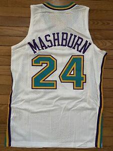 Nike Swingman Jersey New Orleans Charlotte Hornets Jamal Mashburn Large New Tags