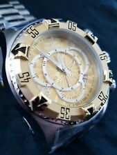 Invicta Reserve Excursion Touring Watch Swiss Mvmt Two-tone 18k Gold Plated