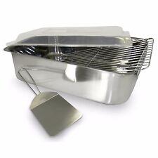 Lasagna Pan Deep Dish With Lid Roaster Roasting Rack Spatula Cookware Stainless