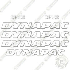 Dynapac CP142 Decal Kit Pneumatic Roller Equipment Decals (CP 142)