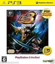 Used PS3 Monster Hunter Portable 3rd HD PLAYSTATION 3 SONY JAPAN JAPANESE IMPORT