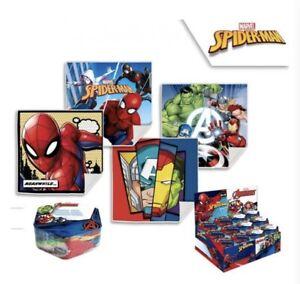 Marvel Avengers Kids magic flannel cloth expanding bath travel Gift Spiderman
