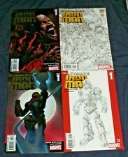 ULTIMATE IRON MAN #1 (NM) 4 Different covers! Tony Stark 2005 Marvel Avengers
