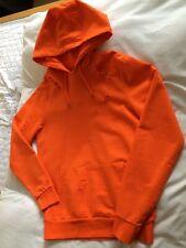 Men's Primark Orange Hoodie Distressed Ripped Rips