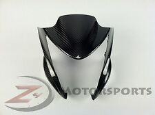 2012-2016 ER-6N ER6N Upper Front Nose Panel Cowling Fairing 100% Carbon Fiber