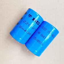 1lot/2PCS VISHAY BC 157 400V 220uF 85c High Voltage/HV Electrolytic Capacitors