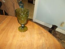 VINTAGE GREEN DRINKING GLASS
