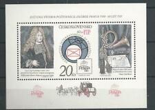 1986 MNH Tschechoslowakei Mi block 67C