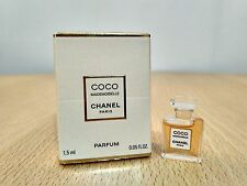 Coco Mademoiselle Chanel Parfum for women 1.5ml MINI MINIATURE PERFUME New Boxed
