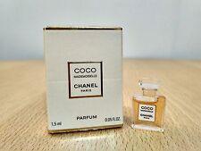 Coco Mademoiselle Chanel Parfum for women 1.5ml MINI MINIATURE PERFUME New Boxed