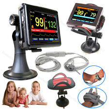 PM60A Infant/Kids/Born Pulse Oximeter SPO2 Patient Monitor Touch Screen+Software
