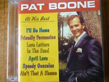 CD ALBUM - PAT BOONE - At his best [2001]