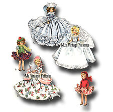 Vintage Pattern for Ginny, Wendy Doll Clothes ~ Dresses, Costumes
