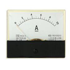 1Pcs Analog DC 0-10A Current Ampere Meter Panel Ammeter Gauge 44C2