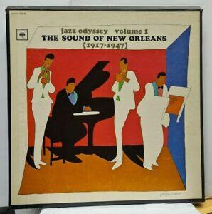 LP-Box (3 LP´s)  jazz odyssey volume 1 - The Sound of New Orleans (1917-1947)