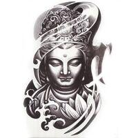 Buddah Einmal Tattoo Frau Beten Religion Temporary Temporäre Tattoo Body Sticker