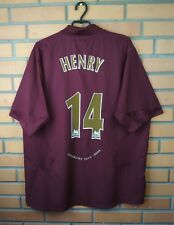 Henry Arsenal jersey 2XL 2005 2006 home shirt soccer football Nike