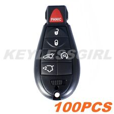 Wholesale 100Pcs New Uncut Replacement Key Fob Keyless Entry Remote For Fobik 6b