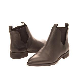 RRP €220 E8 BY MIISTA Leather Chelsea Boots EU 37 UK 4 US 6.5 Polished Panel