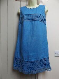 GORGEOUS NEXT LINEN BOHO TUNIC DRESS...SIZE 12...LAGENLOOK