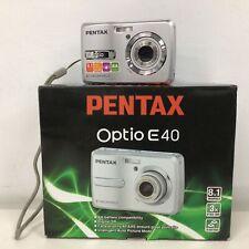 Pentax Optio E40 Camera With Billabong Case #507