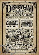 Disney vintage A4 art print, photo, picture, gift, decor, nursery, baby, wedding