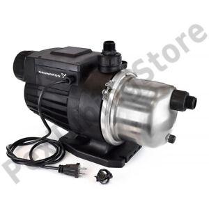 Grundfos 96860207 MQ3-45 Pressure Boosting Pump, 230V, 1 HP