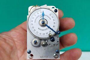 Sargent Greenleaf 72 Hour Vault Safe Time Lock Clock Movement REPAIR PARTS 4356