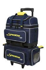 Storm Streamline 4 Ball Roller Bowling Bag Navy Grey Yellow