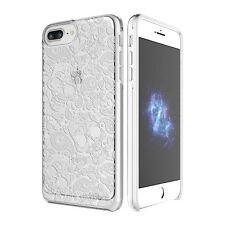 "Prodigee Show Calavera Clear iPhone 7 PLUS 5.5"" T 2 Piece Case Thin Slim Cover"