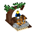 Lego MOC Camp Fire - Model PDF Instructions Manual