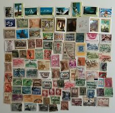 100 Different Peru Stamps Collection