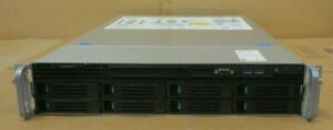 "Intel R2308WTTYS SR2308 Up to 2x E5-2600v3 24x DDR4 Slot 8x 3.5"" Bay CTO Server"