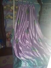 Princess and the frog curtain set ceiling to floor length New Condition