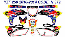 N 379 YAMAHA YZF 250 2010 2011 2012 2013 DECALS STICKERS GRAPHICS KIT