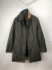 Barbour Twill Belsay Women's Green Breathable Coat Jacket US8 UK12 38 M Medium