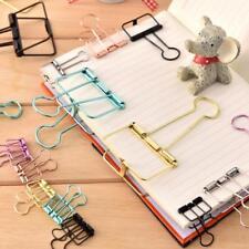 Mini Assorted Colour Notebook Bulldog Clips Paper Bed nets Clip Folder
