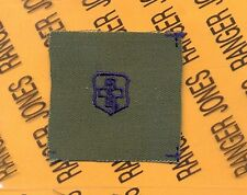 USAF Air Force Medical Tech Qualification OD Green & Blue badge patch