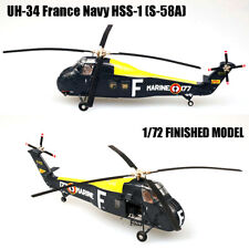 UH-34 France Navy HSS-1 (S-58A) 1/72 Finished helicopter Easy Model non diecast
