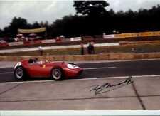 Tony Brooks Ferrari Dino 246 Winner German Grand Prix 1959 Signed Photograph