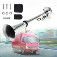 Universal 450mm Single Train Trumpet Car Air Horn Compressor Super Loud 12V X5I7