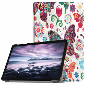 """Samsung Galaxy Tab A 10.5"""" T590 Tablet Folio Smart Stand PU Leather Case Cover"""